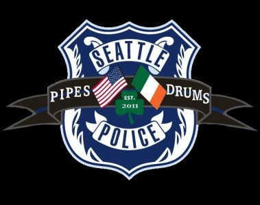 Seattle Police Pipes & Drums Custom Shirts & Apparel
